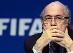 Sepp Blatter résigné_photo de Broadleak News