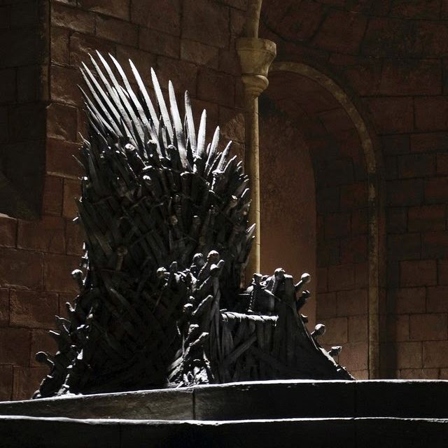 """Game of Thrones"": encore une huitième de saison et même ... Empty Throne Wallpaper"