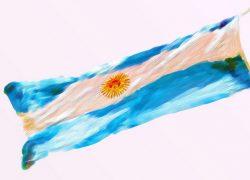 Drapeau argentin_photo de Patrick McDonald