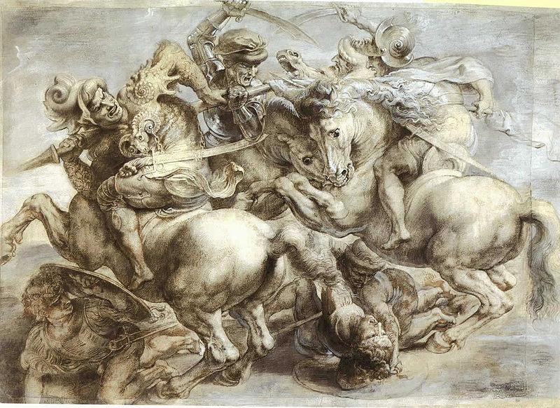 copie_Rubens_battaglia_bataille_anghiari