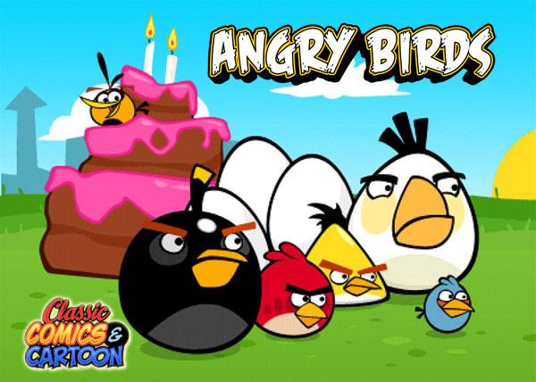 Angry birds version dessin anim sharknews - Dessin de angry birds ...