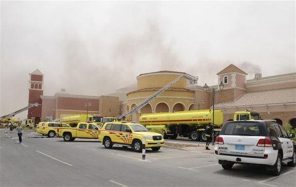 incendie qatar enfants